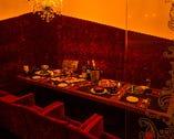 ●ふかふかソファーのゆったり個室!