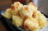イマイユの変わり内なー天ぷら3つの味わい