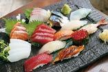 美ら海の恵み!!自慢の寿司は一味違います!!