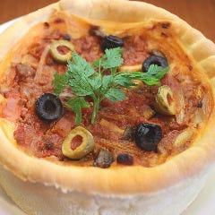 シカゴピザ Deep Dish Pizza