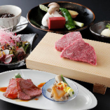 クーポン利用で「神戸牛赤身ランチコース」4,378円(税込)