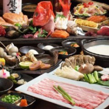 【2時間飲放題付】サムギョプサルと黒豚しゃぶしゃぶから選べる!毛蟹付『Kabure』(かぶれ)コース〈全9品〉