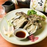 新鮮の牡蠣メニュー【神奈川県】