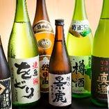 [日本酒・本格焼酎] 鶏との相性抜群な選りすぐりをご提供♪