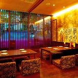 ◆接待・会食におすすめ 最大10名様迄対応の完全個室ございます