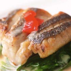 シェフおすすめ本日のお魚料理