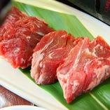 赤身肉の香味焼き