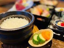 銀シャリ 土鍋炊き