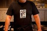 カツオを愛するものしか着れない、カツオTシャツ。