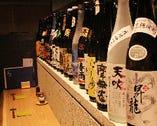 日本酒だけじゃない!銘柄焼酎も多数揃えています。