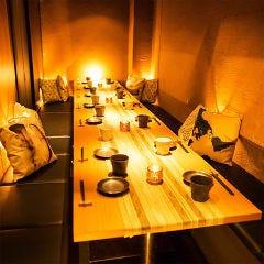 個室で焼き鳥と肉寿司食べ放題 あじと 赤羽店