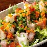 海鮮アボカドサラダ
