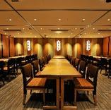 【テーブル個室】大人数の宴会や企業パーティー、同窓会などにもご利用ください