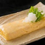 加古川産日本一のこだわり卵でつくるだし巻き