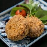 神戸ビーフ牛筋の旨みたっぷり贅沢なコロッケ