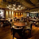 同じフロアのレストラン「WOOL神戸ハーバー」のパーティースペースで、貸切宴会も可能です