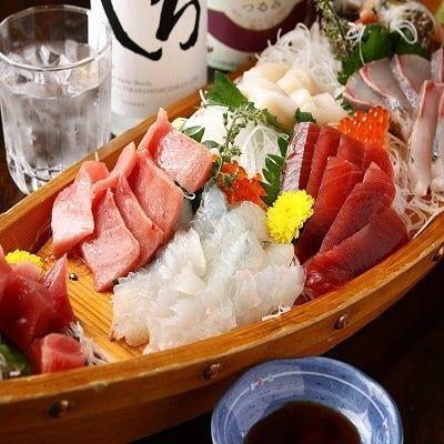 【ディナー限定コース3名様から受付】鮪のど肉ユッケが魅力のコース 4000円(コース料理のみ)
