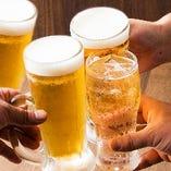 冷えたビールにシュワッとハイボール…さて今夜は何を飲みましょう?