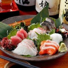 【お得!】鮮魚刺身の3種盛り