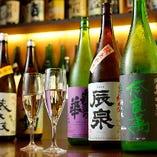 日本酒好きにはたまらない飲み比べ!!