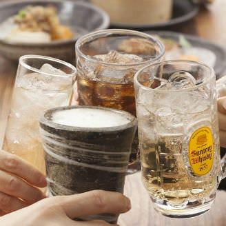 【日曜~木曜限定】ビールあり!90種!2時間単品飲み放題が税込1500円!※金土祝前日は1650円