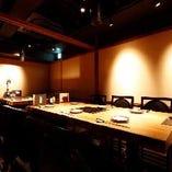 2階 テーブル席個室(~10名様)