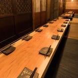 ◆個室、半個室のご利用は、4名様~60名様の対応が可能です