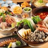◆豪華な逸品を揃えた贅沢コースでご宴会をお楽しみください!