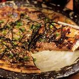 豚肉とキムチのプルコギチヂミ