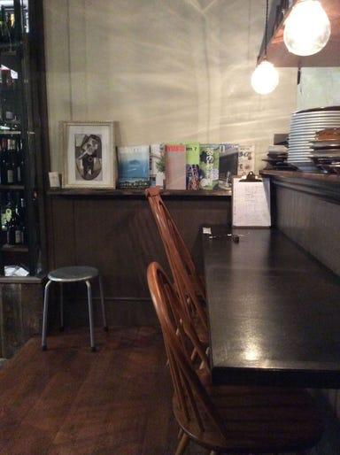薪窯とワイン Sante  店内の画像