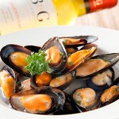 ムール貝の白ワイン仕立て