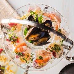 ●日替わり魚介のカルパッチョ
