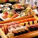 【2H飲放付】寿司メイン!おまかせ握り8貫+お料理5品6,500円