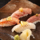炙り寿司の盛り合わせ