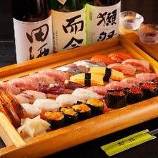 茅場町駅近!寿司付宴会コース