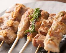北海道産肉の串焼きに自信有り!