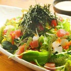 海人自慢の海鮮サラダ