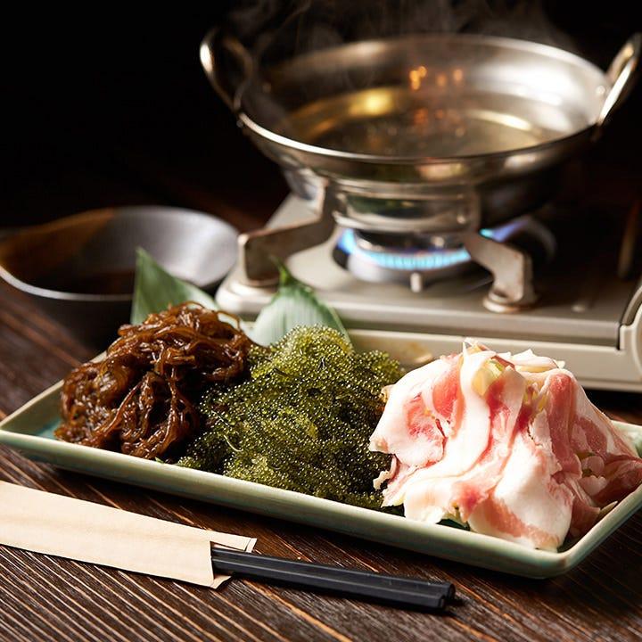 沖縄の食材が織りなす逸品!
