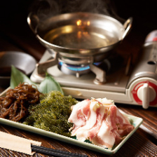 アグー豚のしゃぶしゃぶ&伊江島和牛のにぎりを堪能!じなんぼう特別コース<全10品>宴会・飲み会