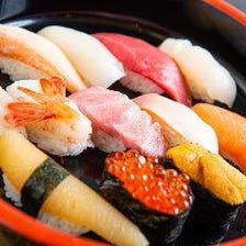 新鮮ネタのお寿司をリーズナブルに