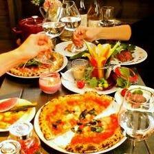 多種多様な料理を楽しむ