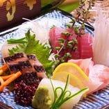 当店のお魚は三浦半島から直送!どれも新鮮そのものです。