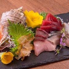 鮮度抜群!仕入れから拘る海鮮料理