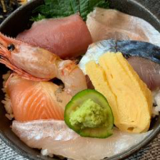 本日の海鮮丼定食<数量限定>