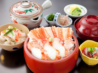 札幌かに家 京都店 コースの画像