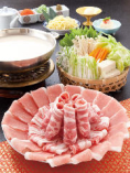 【美味旬肴】黒豚しゃぶしゃぶコース「福寿~ふくじゅ~」 3080円