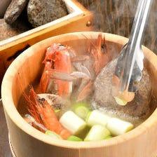 男鹿半島名物「石焼き鍋」