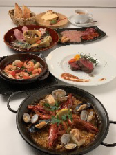 お手軽なスペイン料理コース
