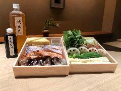 丹後のとり貝、甘鯛、車海老と初夏の野菜のお鍋