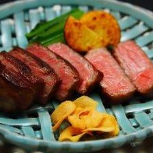小次郎オリジナル低温調理ローズ焼き